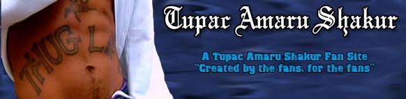 Tupac Shakur Fan Banner
