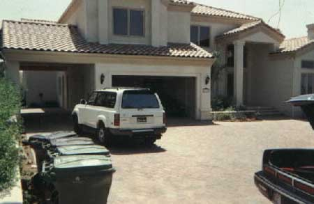 Tupac's House -Frontside